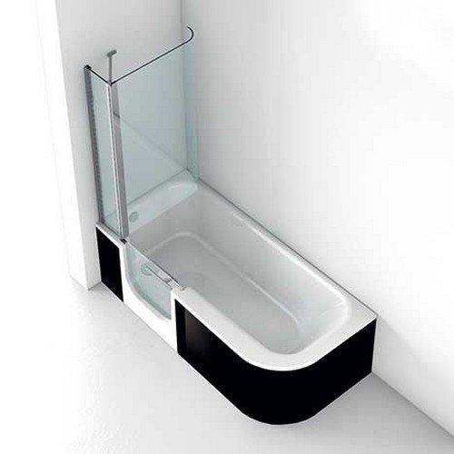 Baignoire d angle avec porte les derni res for Baignoire a porte laterale