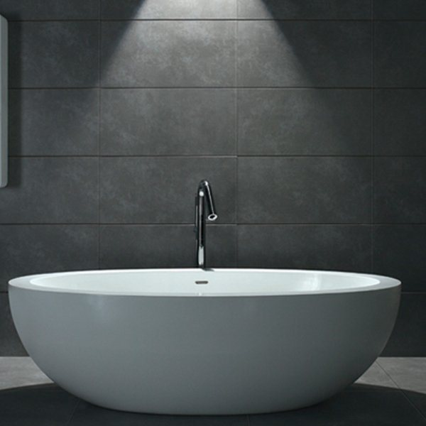 baignoire design stone bs s08 190x105x57cm. Black Bedroom Furniture Sets. Home Design Ideas