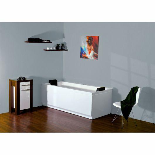 baignoire baln o rectangulaire tango 180x80cm. Black Bedroom Furniture Sets. Home Design Ideas
