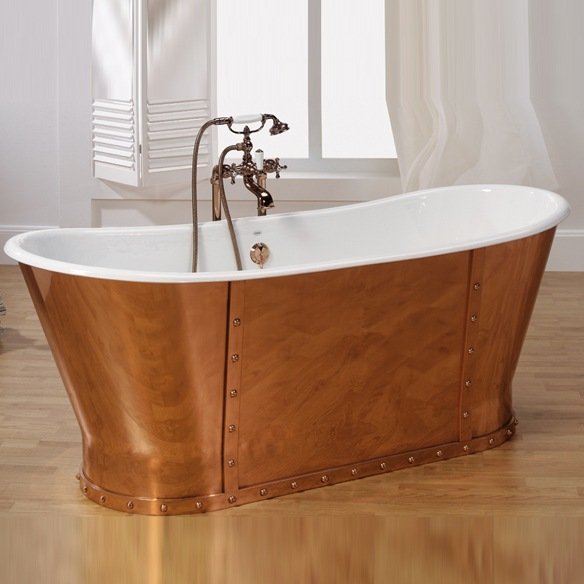 Chombre a coucher for Peindre baignoire fonte