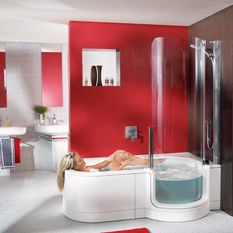 baignoire porte twinline i arrondie 160 170 180cm. Black Bedroom Furniture Sets. Home Design Ideas