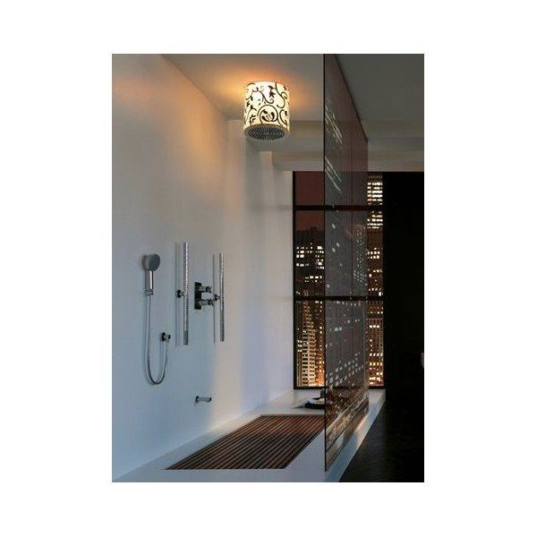 ciel de pluie tondo bossini ma baignoire balneo des quipements performants et design. Black Bedroom Furniture Sets. Home Design Ideas
