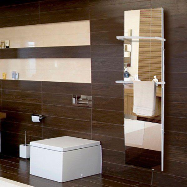Radiateur miroir cosy art me 001 version lectrique - Radiateur miroir salle de bain ...