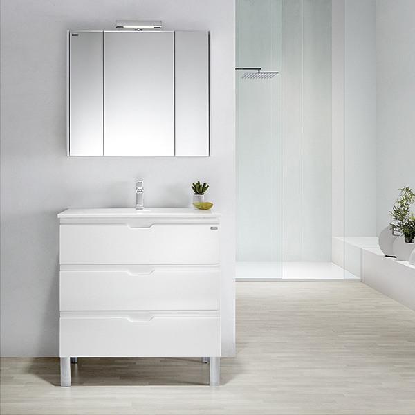 Meuble valenzuela allegro 100x46x46 3 tiroirs et vasque - Meuble trois tiroirs ...