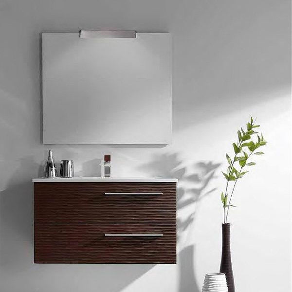 meuble valenzuela dune 60x46x46 avec 2 tiroirs et vasque 36 cm. Black Bedroom Furniture Sets. Home Design Ideas