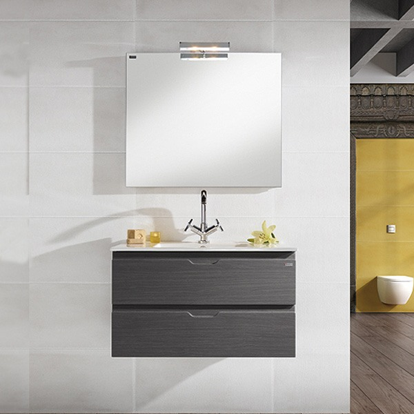 Meuble valenzuela salle de bain allegro 70x46x46 2 tiroirs et vasque - Meuble de salle de bain haut de gamme ...