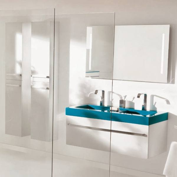 meubles vasque de salle de bain quadra 120 5cmx40 2cm ambiance bain. Black Bedroom Furniture Sets. Home Design Ideas
