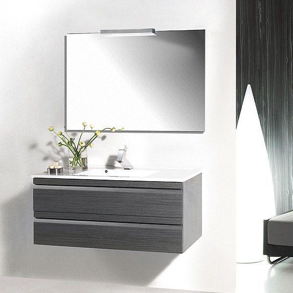 Meuble avec vasque integree - Meuble salle de bain rue du commerce ...