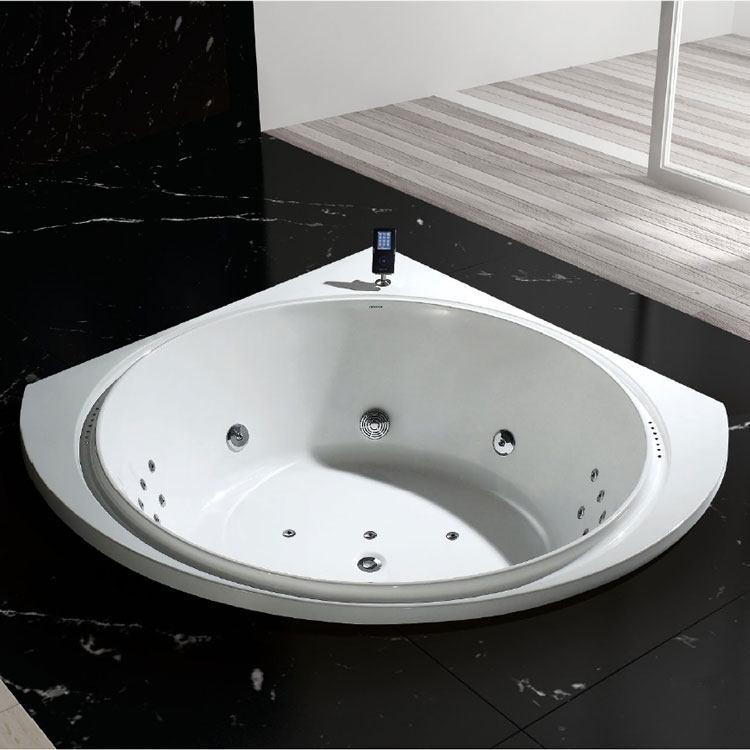 la baignoire balneo rhein une baignoire d 39 angle pour. Black Bedroom Furniture Sets. Home Design Ideas
