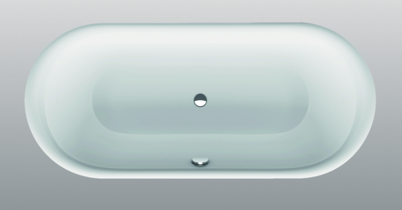 baignoire ovale 180x80cm bettelux oval 3466 bette. Black Bedroom Furniture Sets. Home Design Ideas