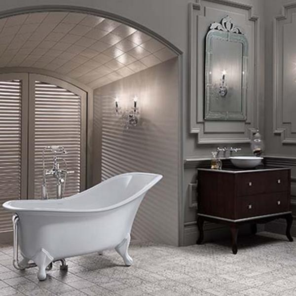 Baignoire ancienne drayton for Salle de bain ancienne