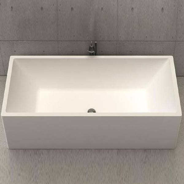 baignoire design platinium tub 180 white stonage. Black Bedroom Furniture Sets. Home Design Ideas