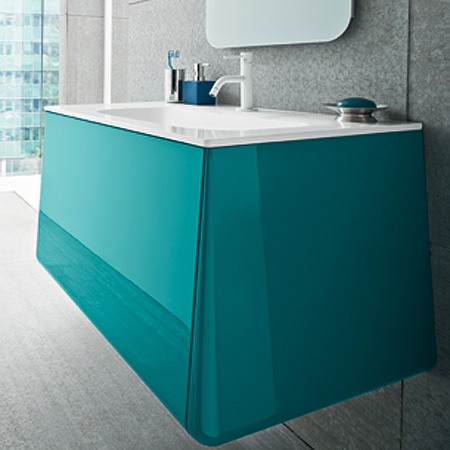 meuble salle de bain campus turquoise. Black Bedroom Furniture Sets. Home Design Ideas