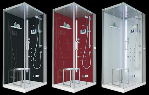 cabine de douche italienne d 39 angle multifonction en niche talos plus 160x80cm. Black Bedroom Furniture Sets. Home Design Ideas
