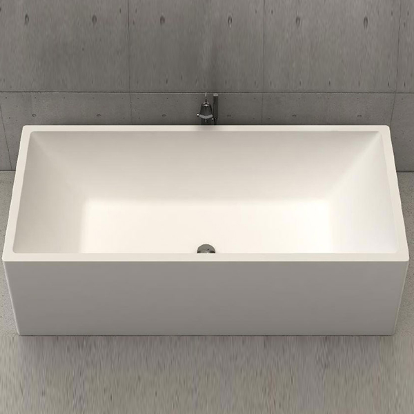 Baignoire Design Platinium Tub 180 White Stonage