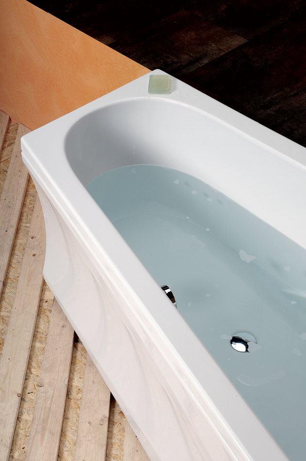 baignoire baln o asym trique naos r 180x100x43cm. Black Bedroom Furniture Sets. Home Design Ideas