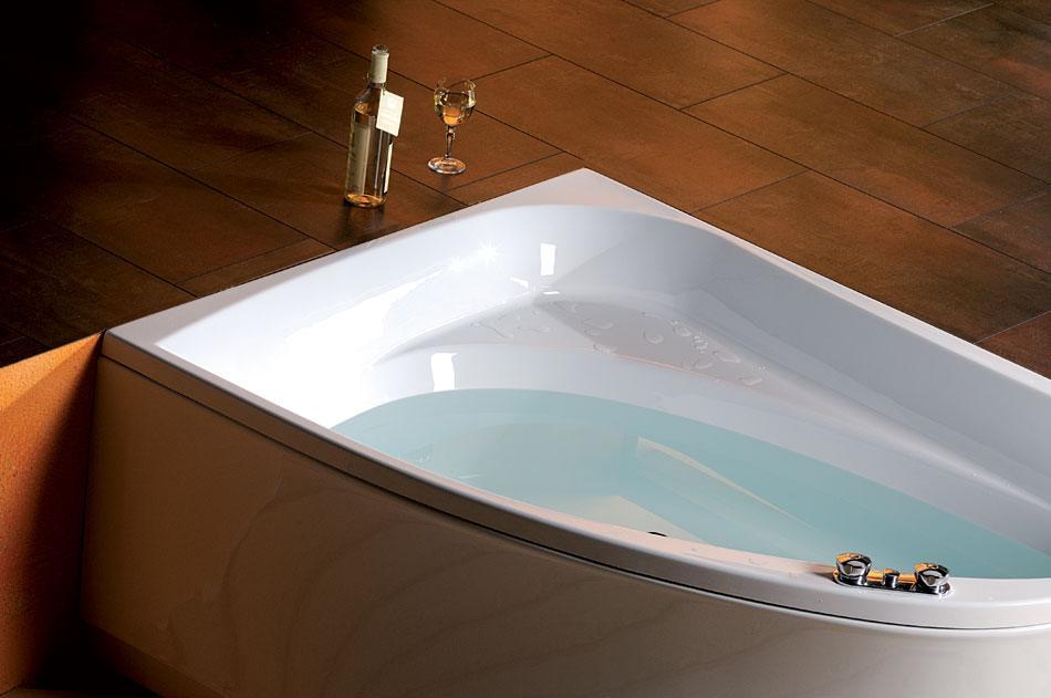 baignoire baln o asym trique tanya r 160x120x49cm. Black Bedroom Furniture Sets. Home Design Ideas