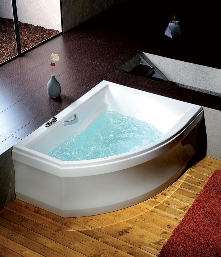 baignoire baln o asym trique tandem l 170x130x50cm. Black Bedroom Furniture Sets. Home Design Ideas