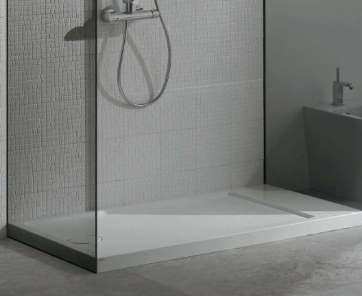 Receveur de douche en pietraluce avec surface antid rapante for Miroir 80x160