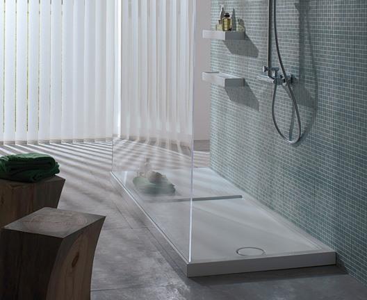 receveur de douche en pietraluce avec surface antid rapante. Black Bedroom Furniture Sets. Home Design Ideas