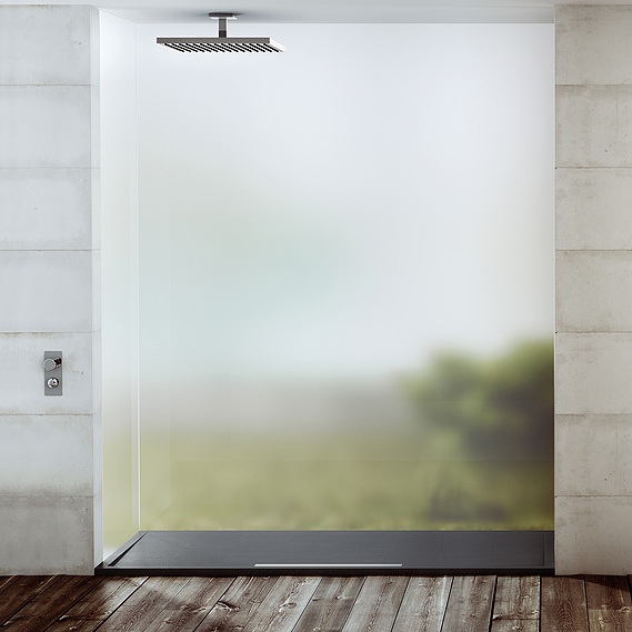 receveur de douche fiora silex ardoise. Black Bedroom Furniture Sets. Home Design Ideas