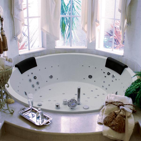 baignoire baln o ronde maesta neos champagne 160x49cm. Black Bedroom Furniture Sets. Home Design Ideas