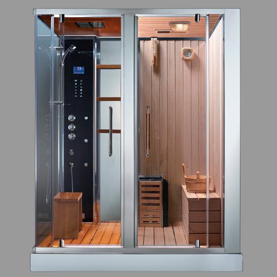 Combine baignoire douche hammam sauna - Combine sauna hammam ...