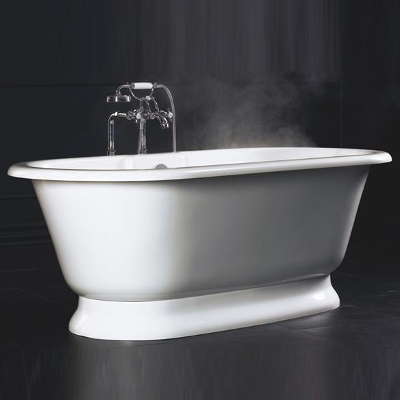 Baignoire ancienne york - Colonne de baignoire ilot ...
