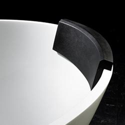 accessoire salle de bain cousin noir pour baignoire napoli victoria albert. Black Bedroom Furniture Sets. Home Design Ideas