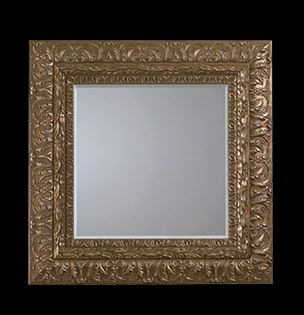 Accessoire salle de bain miroir de luxe genevieve Accessoire salle de bain luxe