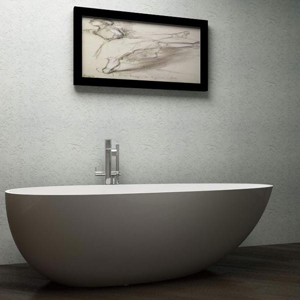 baignoire design stone 185x85x56cm. Black Bedroom Furniture Sets. Home Design Ideas