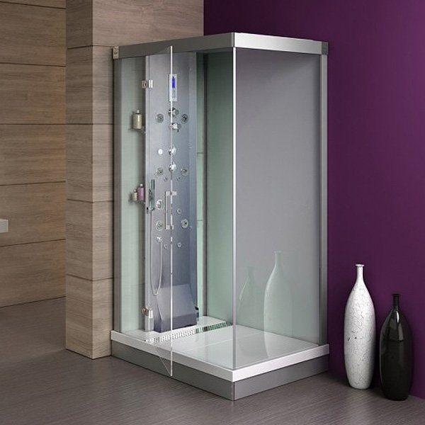 cabine de douche a recyclage d'eau
