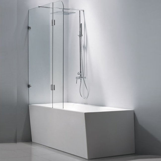 Combin baignoire douche neuschwanstein d2 for Douche bain combine