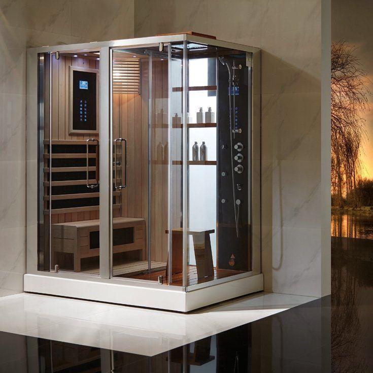 douchecabine sauna ontwerp inspiratie voor uw badkamer. Black Bedroom Furniture Sets. Home Design Ideas