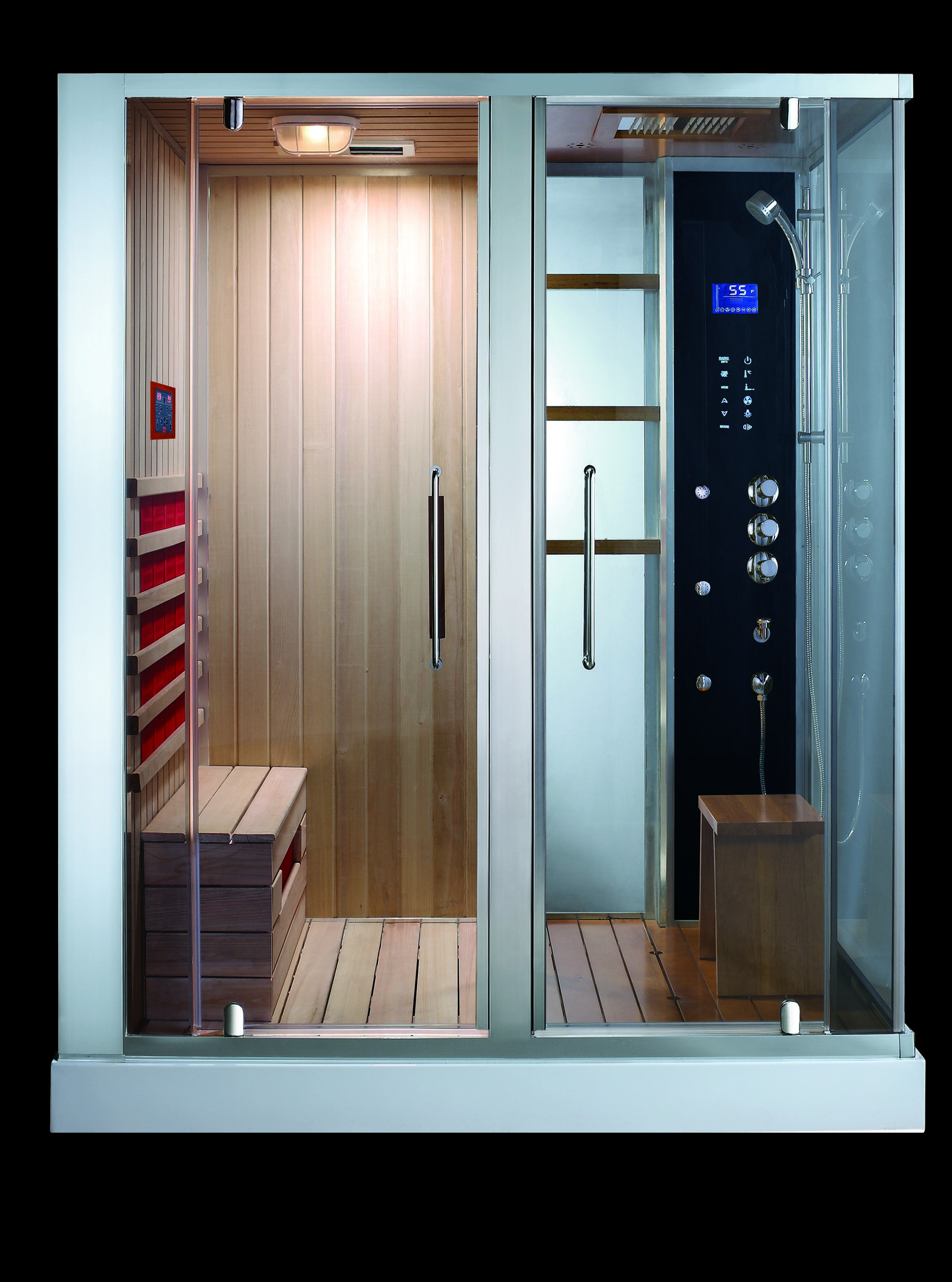 combinée douche hammam sauna thalia ii