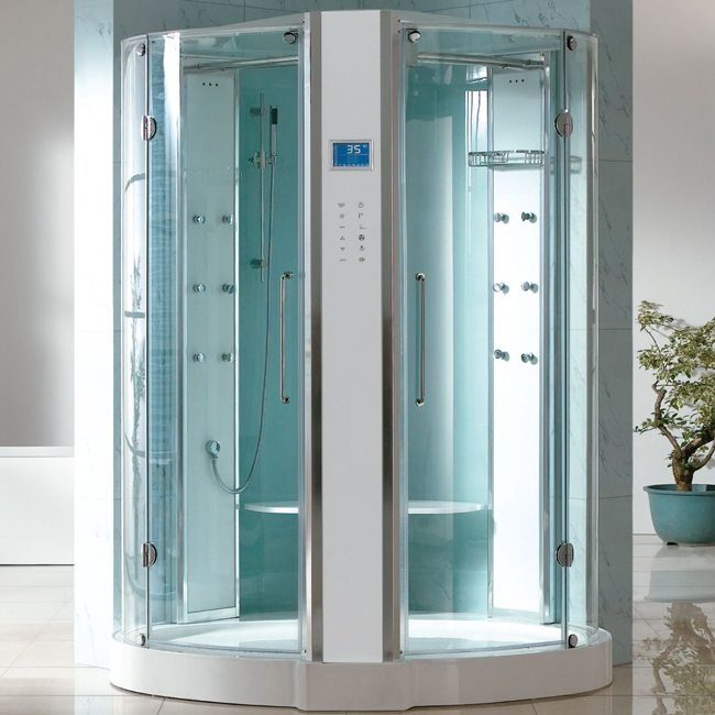 cabine de douche hammam amazone i 150. Black Bedroom Furniture Sets. Home Design Ideas