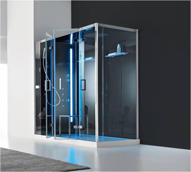 cabine de douche italienne multifonction d 39 angle talos. Black Bedroom Furniture Sets. Home Design Ideas