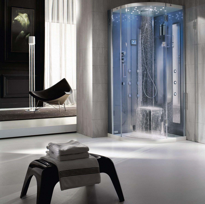 cabine douche tempo angle hafro. Black Bedroom Furniture Sets. Home Design Ideas