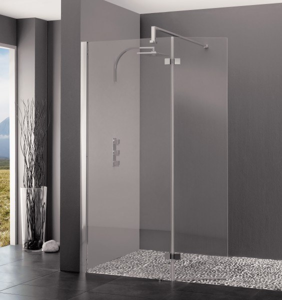 Douche l 39 italienne kinedo kinespace duo avec 2 querres for Prix douche a l italienne