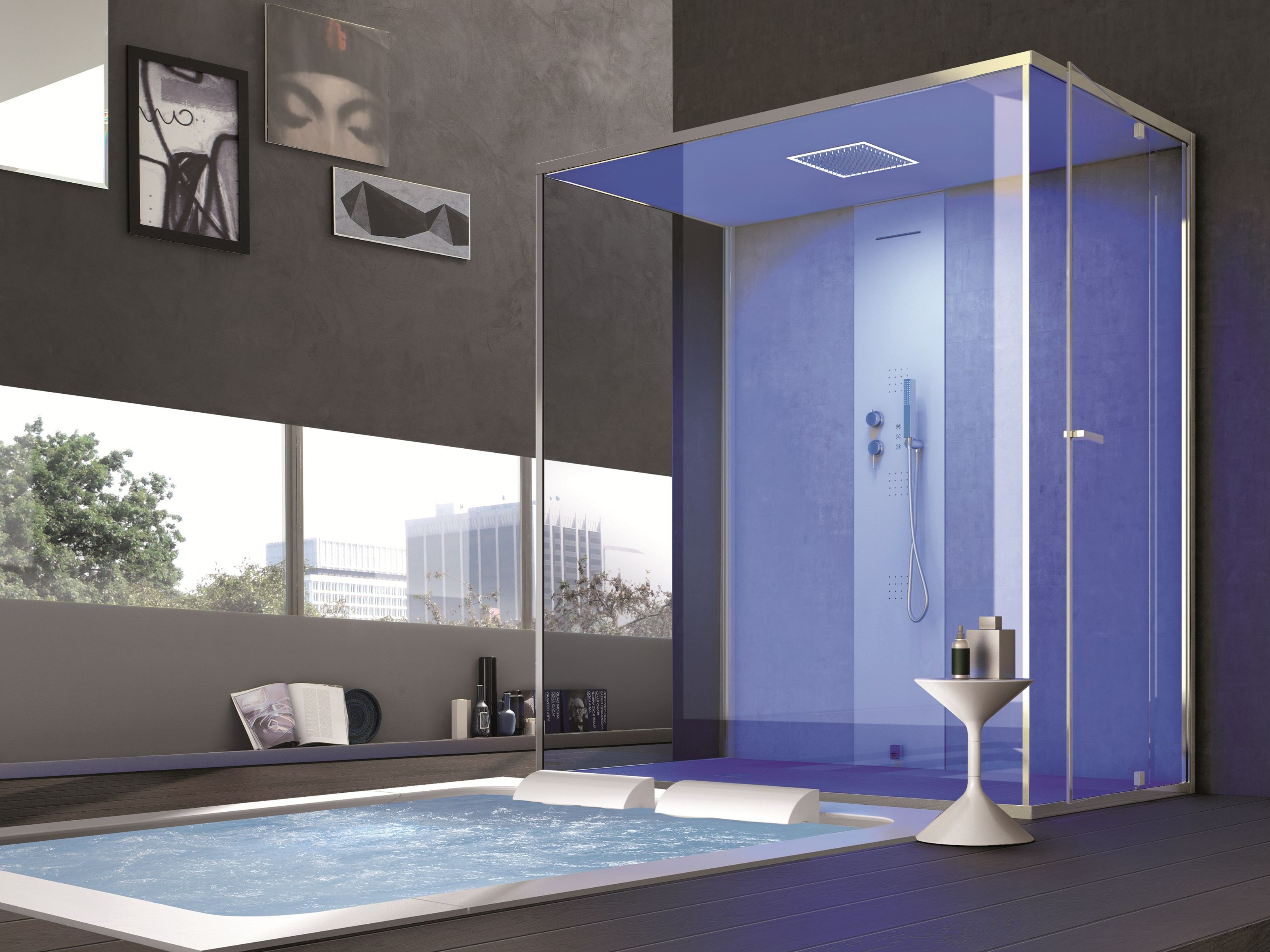 Hafro douche hamman et sauna de luxe pour votre salle de bain tous les articles - Baignoire douche design ...