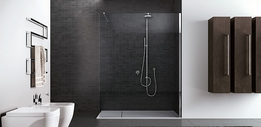 Accessoire douche italienne home design architecture for Design douche italienne