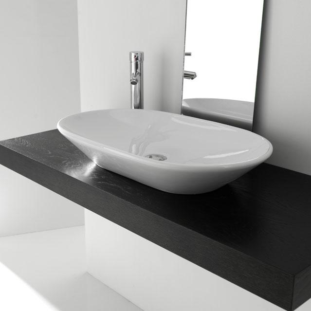 lavabo moderne bp021 bleu provence. Black Bedroom Furniture Sets. Home Design Ideas
