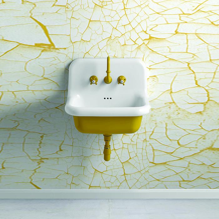 vous cherchez un lavabo r tro suspendu venez d couvrir ce lavabo de 60cm true colors. Black Bedroom Furniture Sets. Home Design Ideas