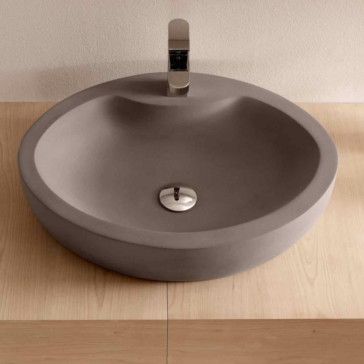 Lavabo Salle De Bain Ovale ~ lavabo top counter barros bathco 550 x 400 x 120 mm bathco 08014