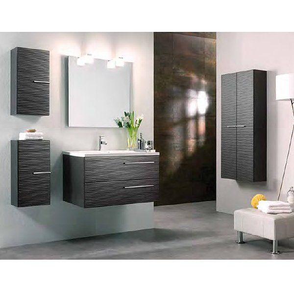meuble salle de bain facade relief. Black Bedroom Furniture Sets. Home Design Ideas