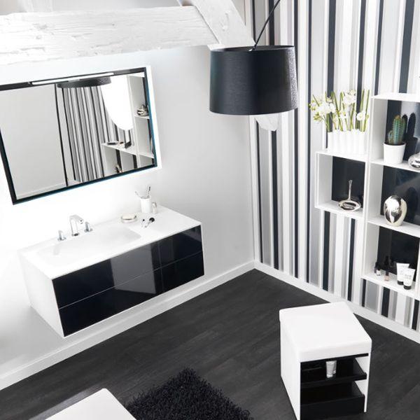 meubles vasque de salle de bain kito 105cmx50cm. Black Bedroom Furniture Sets. Home Design Ideas