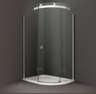 Paroi de douche angulaire aqua 100 x 80 - Paroi de douche 100 ...