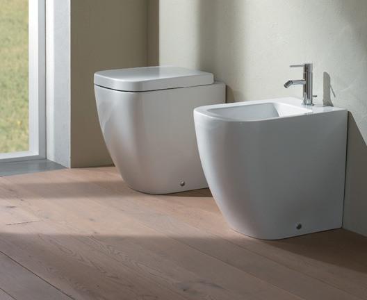 cuvette poser stone de ceramica globo 45 x 36 x 42 blanc mat. Black Bedroom Furniture Sets. Home Design Ideas