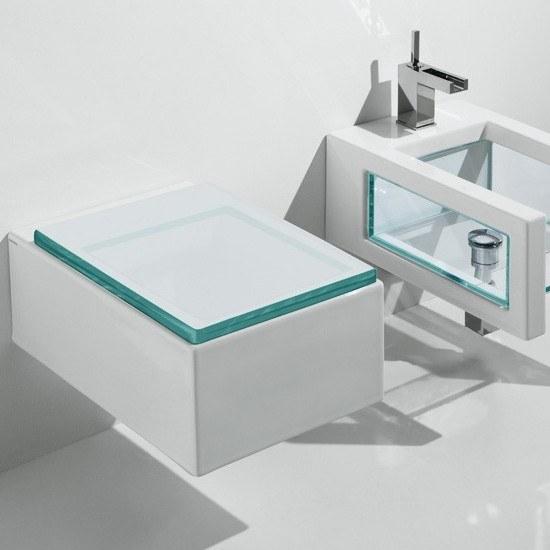 wc suspendu gsg glass. Black Bedroom Furniture Sets. Home Design Ideas