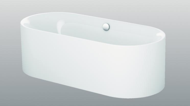 baignoire ovale baignoire ovale en fonte volute de jacob. Black Bedroom Furniture Sets. Home Design Ideas